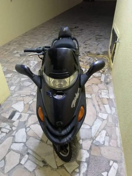 Moto en bonne état
